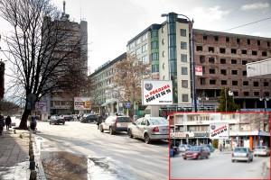 Билборд - гр. Пазарджик  бул. Ген. Гурко на кръстовището с паркинга на ул. Св. Иван рилски